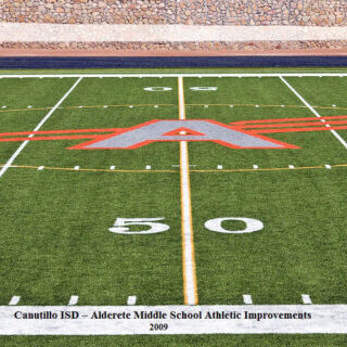 Canutillo ISD – Alderete Middle School Athletic Improvements 2009