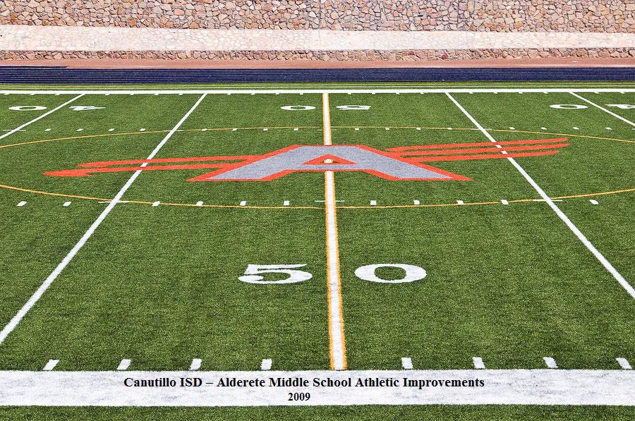 Canutillo ISD – Alderete Middle School Athletic Improvements 2009